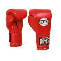 Боксерские перчатки тренировочные на липучке CЕ814, 14 унций
