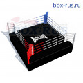 Боксерский ринг (турнирный) на помосте (помост 7м х 7м х 1м боевая зона 6м х 6м • BRP7-1